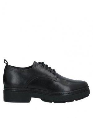 Обувь на шнурках CARMENS. Цвет: черный