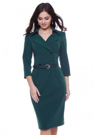 Платье Grey Cat MP002XW1ATPX. Цвет: зеленый