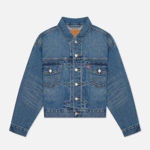 Женская джинсовая куртка Levis New Heritage Levi's. Цвет: голубой
