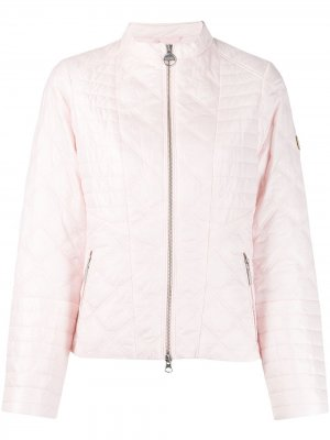 Стеганая куртка Barbour. Цвет: розовый