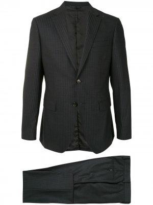 Durban костюм узкого кроя с однобортным пиджаком D'urban. Цвет: серый