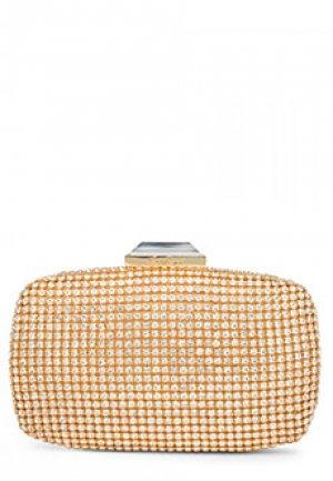 Клатч LUISA SPAGNOLI. Цвет: желтый