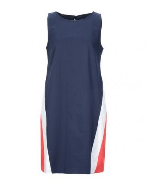Короткое платье HANITA. Цвет: темно-синий