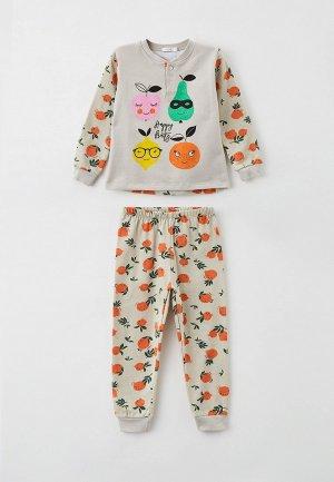 Пижама SleepShy. Цвет: серый