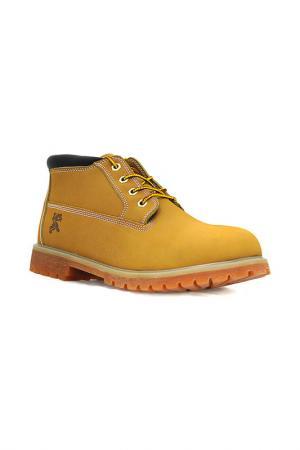 Ботинки Front by Ascot. Цвет: honey, nubuck