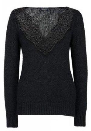 Пуловер LUISA SPAGNOLI. Цвет: черный