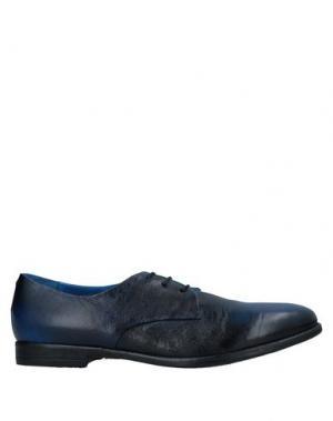 Обувь на шнурках ALEXANDER HOTTO. Цвет: синий