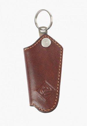 Ключница Edmins. Цвет: коричневый