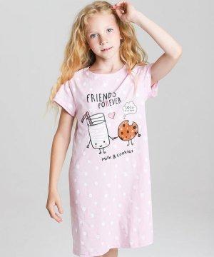 Ночная сорочка для девочек O`Stin. Цвет: светло-лавандовый
