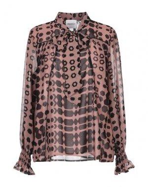 Блузка ANNARITA N TWENTY 4H. Цвет: какао