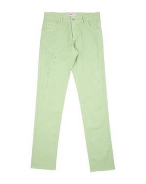Повседневные брюки GAS. Цвет: светло-зеленый