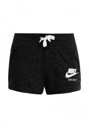 Шорты Nike WOMENS SPORTSWEAR VINTAGE SHORTS. Цвет: черный