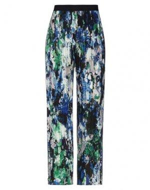 Повседневные брюки FUZZI. Цвет: синий