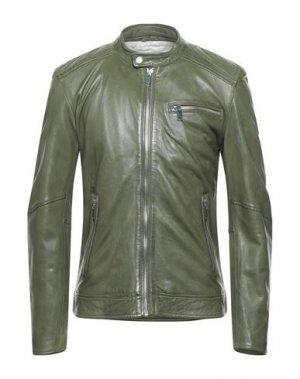 Куртка FREAKY NATION. Цвет: темно-зеленый