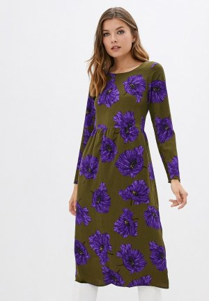 Платье Compania Fantastica. Цвет: хаки