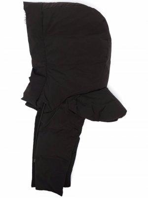 Балаклава с кулиской Yves Salomon. Цвет: черный