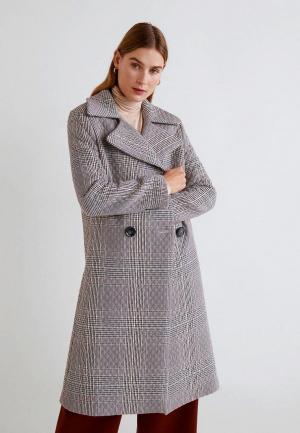 Пальто Mango - HAITI-I. Цвет: серый