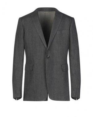 Пиджак 10SEI0OTTO. Цвет: стальной серый