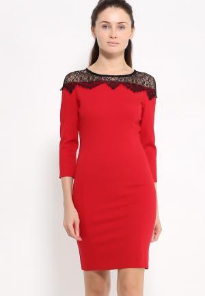 Платье Zerkala. Цвет: красный