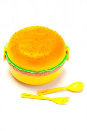 Ланчбокс «Гамбургер» BRADEX. Цвет: желтый