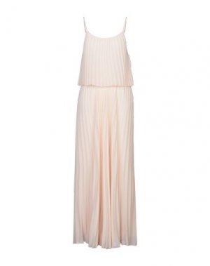 Длинное платье CARACTÈRE. Цвет: светло-розовый