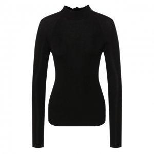 Пуловер из вискозы Petar Petrov. Цвет: чёрный