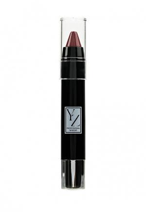 Карандаш для губ Yllozure СС-уход, тон 44. Цвет: бордовый