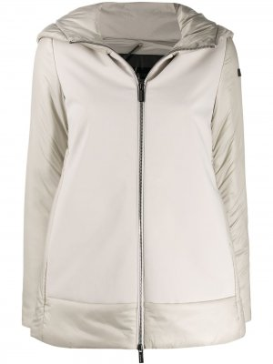Куртка-пуховик с нашивкой-логотипом RRD. Цвет: нейтральные цвета