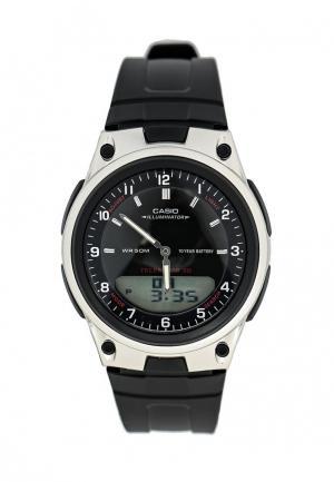 Часы Casio Collection AW-80-1A. Цвет: черный