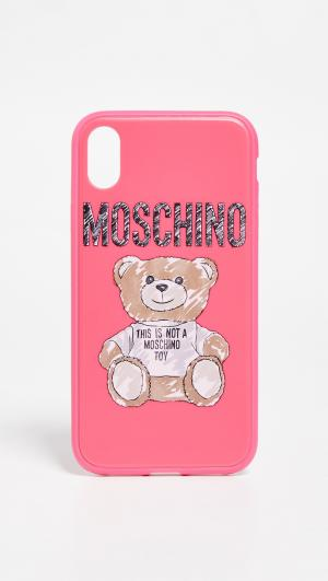 Bear iPhone XR Case Moschino
