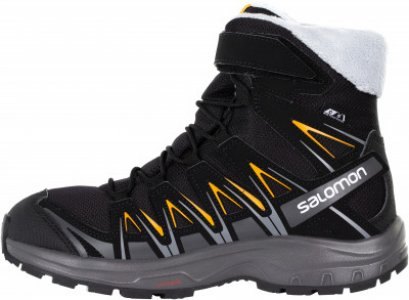 Сапоги утепленные для мальчиков XA PRO 3D Winter TS CSWP J, размер 33 Salomon. Цвет: черный