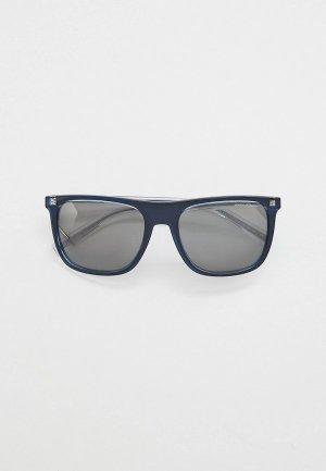 Очки солнцезащитные Armani Exchange AX4102S 83206G. Цвет: синий