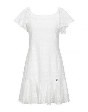 Короткое платье REBEL QUEEN by LIU •JO. Цвет: белый