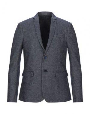 Пиджак PATRIZIA PEPE. Цвет: темно-синий