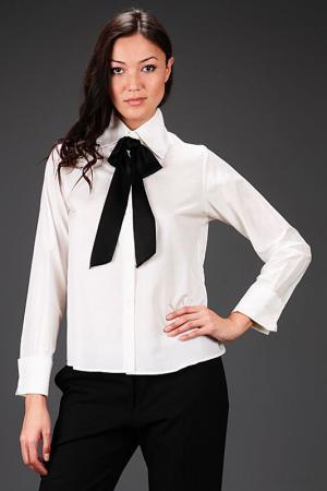 Блуза Bill Blass. Цвет: белый