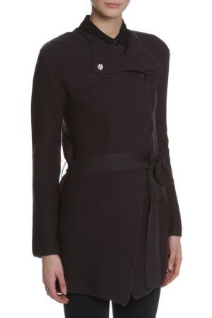 Пальто CNC COSTUME NATIONAL C'N'C'. Цвет: коричневый