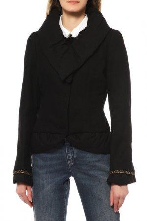 Куртка Frankie Morello. Цвет: черный