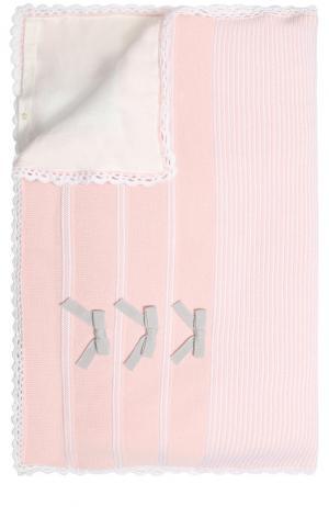 Шерстяное одеяло Baby T. Цвет: розовый