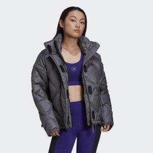 Утепленная куртка by Stella McCartney adidas. Цвет: none