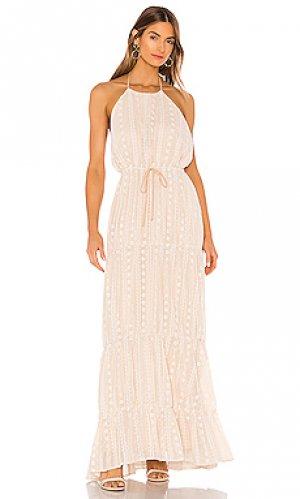 Платье martina Tularosa. Цвет: розовый