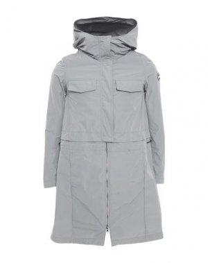 Легкое пальто COLMAR. Цвет: серый