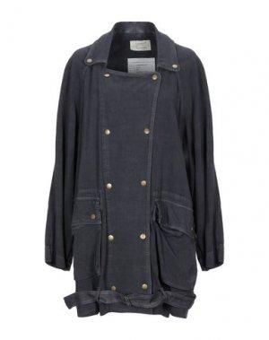 Легкое пальто CURRENT/ELLIOTT. Цвет: свинцово-серый
