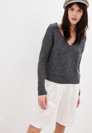 Пуловер Koton. Цвет: серый