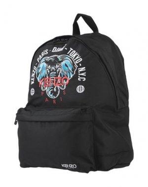 Рюкзаки и сумки на пояс KENZO. Цвет: черный