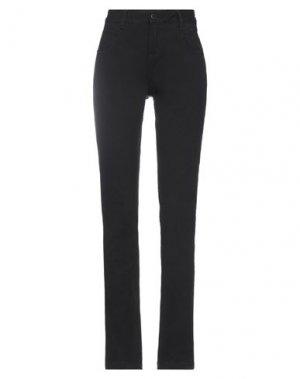 Джинсовые брюки FULL CIRCLE. Цвет: черный