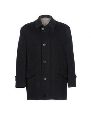 Пальто BRUBECK. Цвет: черный