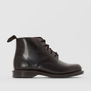 Ботинки кожаные на шнурках Emmeline DR MARTENS. Цвет: черный