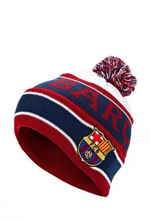 Шапка Atributika & Club™ FC Barcelona. Цвет: бордовый