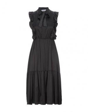 Платье миди KAOS. Цвет: черный