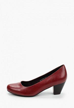 Туфли Instreet. Цвет: бордовый